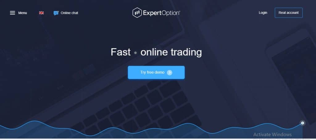 ExpertOption review introduction